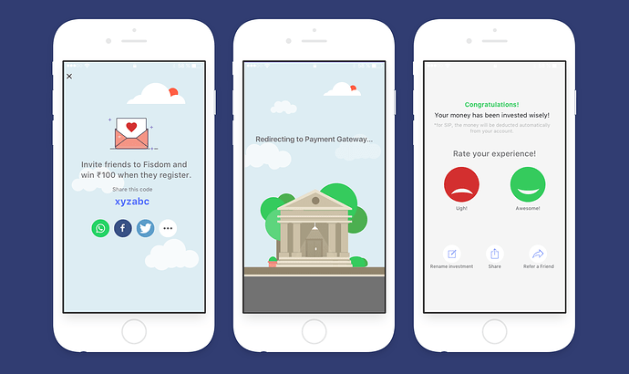 Following banking UX trends, fintech apps are improving
