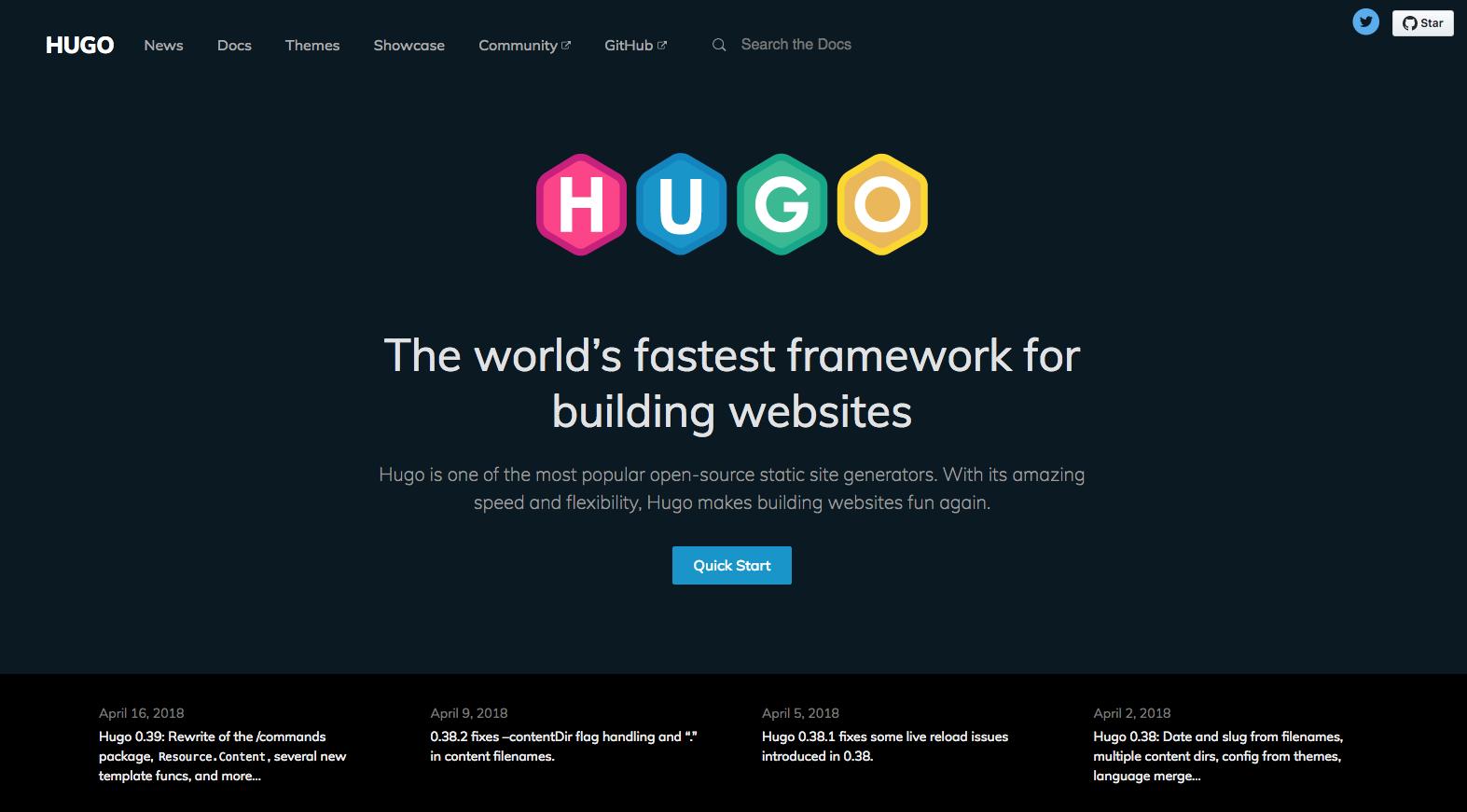 Hugo CMS - Instalación y Creación del Proyecto