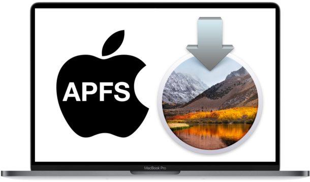 How to skip APFS when installing macOS High Sierra