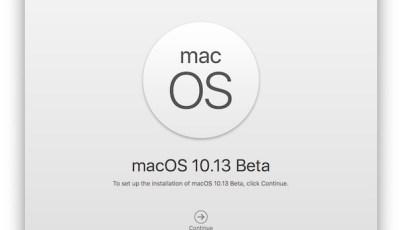 How to Make Bootable MacOS High Sierra 10.13 Beta Installer USB Drive